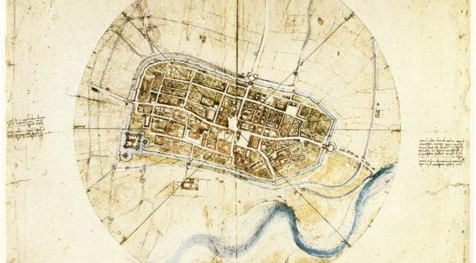 La mappa di Imola: orgoglio europeo.